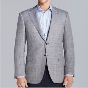Canali Siena 2 tone hounds tooth sport jacket
